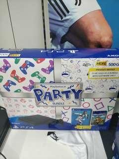 PS4 Slim Party Bundle 500GB