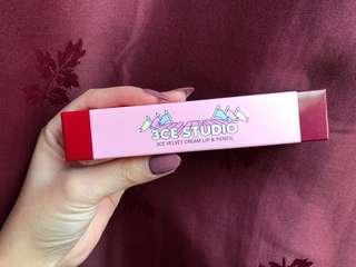 3CE Velvet cream lip & pencil