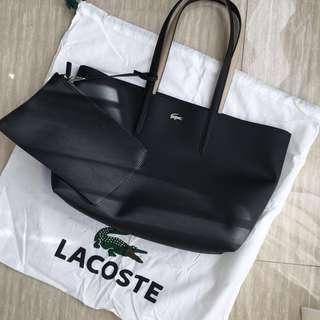 Lacoste Reversible Bicolor Tote Bag