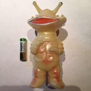 カネゴン 食錢怪 Kanegon U.S. Toys 夜光figure [鹹蛋超人Ultra Q 怪獸 錢多多 圓谷 TSUBURAYA 円谷 Sofubi]可動 US Toys action figure glow in the dark