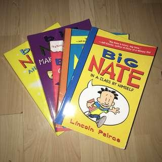 🙇🏻‍♂️Big Nate books CLEARANCE SALE ‼️