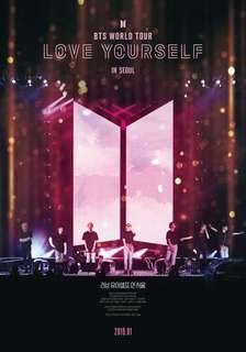 BTS Love Yourself In Seoul Concert Movie