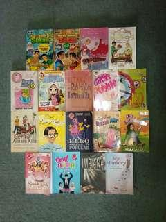 Teen Books to let go (PTSONE)
