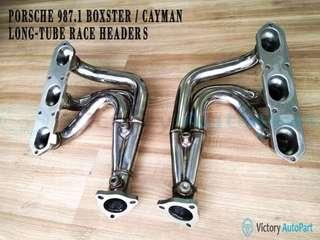 PORSCHE 987.1 BOXSTER/CAYMAN LONG TUBE RACE HEADER