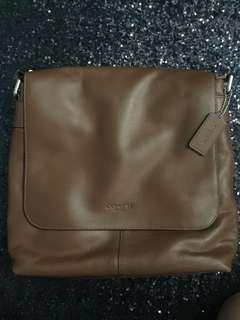 Coach Charles Small Messenger Leather Original