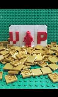 Lego Pearl Gold Smooth Tiles