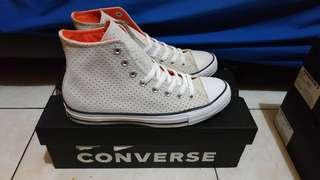 Converse ct as hi white mandarin bold