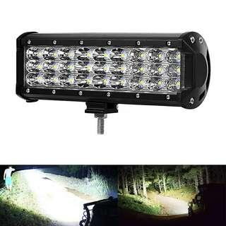 ★Crazy✔81W 9 inch Cree LED Work Light Bar Flood Beam Off road 6885LM Jeep Drivin