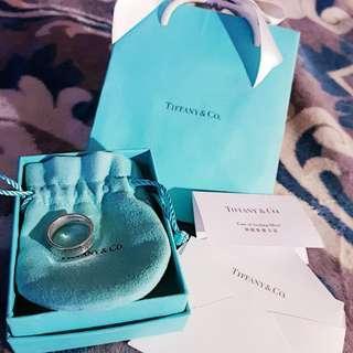 【正品】 Tiffany 1837紀念純銀戒(全新品)
