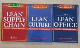 Lean Supply Chain, Lean Culture, Lean Office