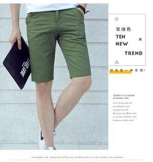Brand New Army Green Bermudas