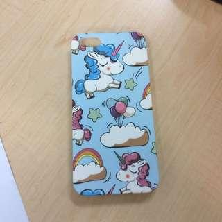 iphone 5s case unicorn blue