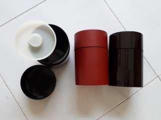 #blessing Plastic Tea Canisters