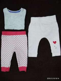 Baby pants with free tshirt