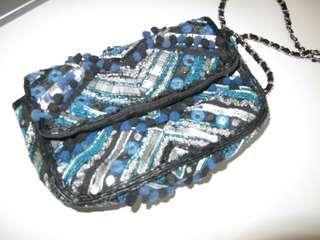 🚚 個性化鍊包(藍黑)-僅限小七超取付款