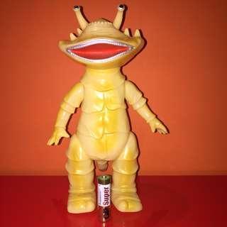 カネゴン 食錢怪 Kanegon POPY 夜光 figure [鹹蛋超人Ultra Q 怪獸 錢多多 圓谷 TSUBURAYA 円谷 sofubi]可動 Marmit Bullmark action figure