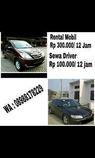 SEWA MOBIL Rp 300.000/ 12 jam