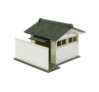 全新 1/150 日本優質紙模型 公共衛生間 火車鐵道模型 情景小物 N比例 (not Tomytec Tomix Kato)