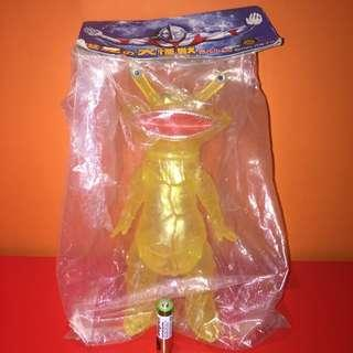 カネゴン 食錢怪 Kanegon Marmit 透明 figure [鹹蛋超人Ultra Q 怪獸 錢多多 圓谷 TSUBURAYA 円谷 sofubi]可動 Bullmark action figure