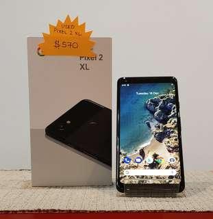 Used Google Pixel 2 XL 64gb Black