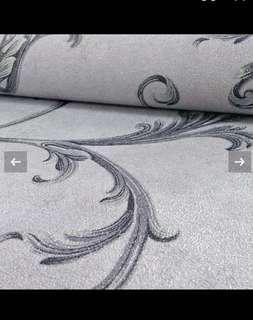 Grey feather wallpaper bought from UK