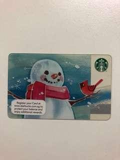 Unregistered NEW Starbucks Gift Card