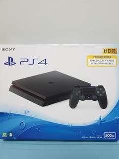 New PS4 Slim (500GB)