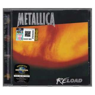 METALLICA - Reload 1997 CD (IMPORTED)