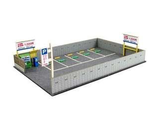 全新 1/150 日本優質紙模型 日本街道街車場 火車鐵道模型 情景小物 N比例 (not Tomytec Tomix Kato)