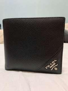 Prada Men's Saffiano Wallet