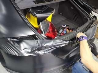 汽車轉色貼膜