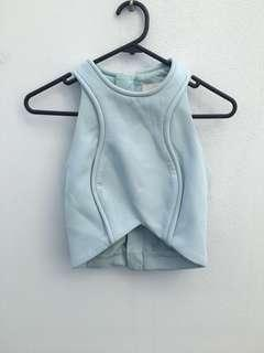Cameo the label (c/meo) size xs light blue top