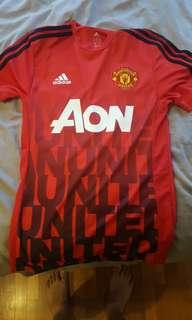 Limited edition machester united jersey