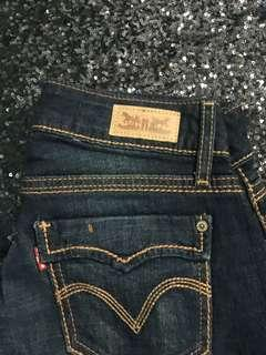 Levi's 529 Styled Curvy Straight Women's Jeans Original