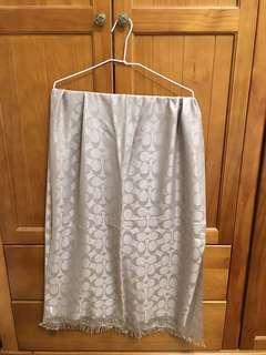 coach絲巾
