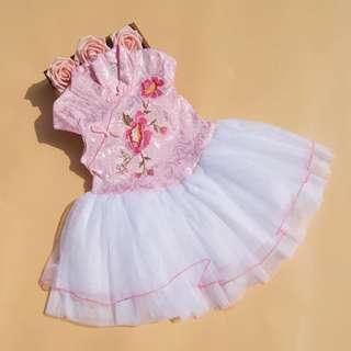 Cheongsam Tutu Dress