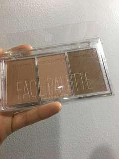 MAKE UP SALE! H&M 3-in-1 Face Palette (blusher, highlighter, bronzer)