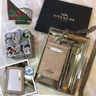 禮盒裝‼️ Coach 咭套 多用途