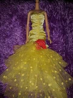 Barbie Gown