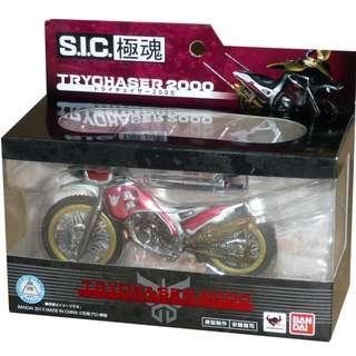 S.I.C SIC Kiwami Ultimate Soul - Kamen Rider Kuuga Bike - Trychaser 2000 (1/18 Scale) Agito Faiz Decade