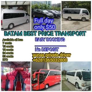 BATAM BEST PRICE TRANSPORTATION