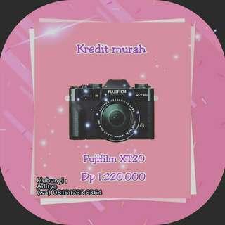 Fujifilm X-T20,Kredit Kamera murah tanpa CC cm 3menit diMacronic aja