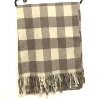 🚚 格子 保暖圍巾