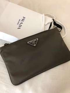 Prada Nylon Clutch
