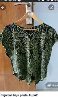Baju kupu-kupu baju pantai