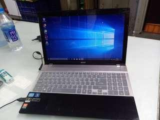 acer core i7 . windows 10