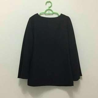 Plain Black Blouse