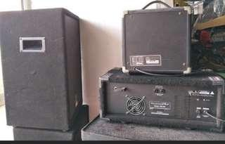Wharfedale Pro PM-600PA system for sale@$500 set