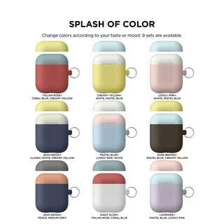 🚩Multi-colors airpods matching protective case 多色airpods保護套*超熱賣💚💙💜💛❤