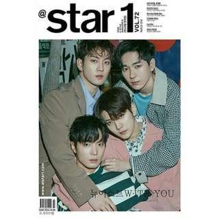 Price Reduced!! [Ready Stock] Nu'est W STAR 1 Magazine